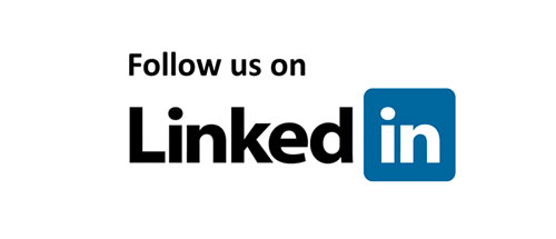 Follow us on linkedin logo